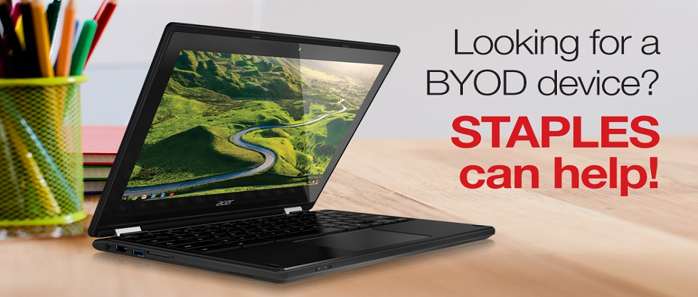 Need a BYOD device? STAPLES can help!