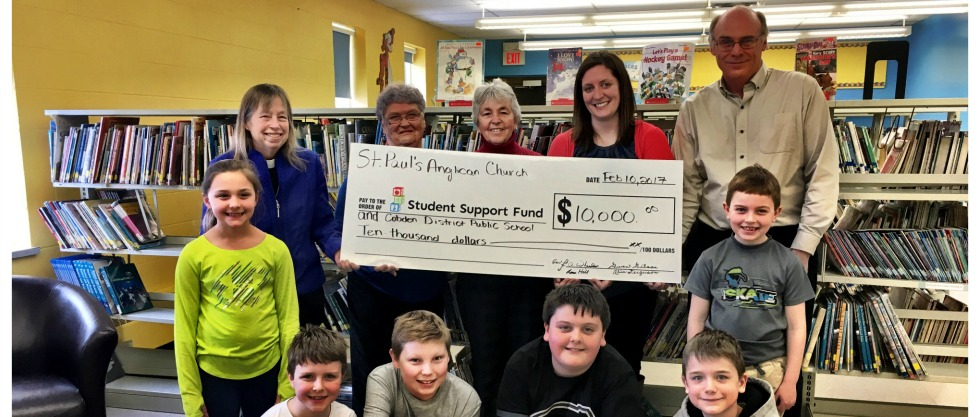 Cobden PS and Student Support Fund donation