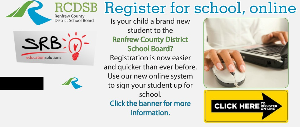 Click the banner to register your child for the 2015-2016 school year